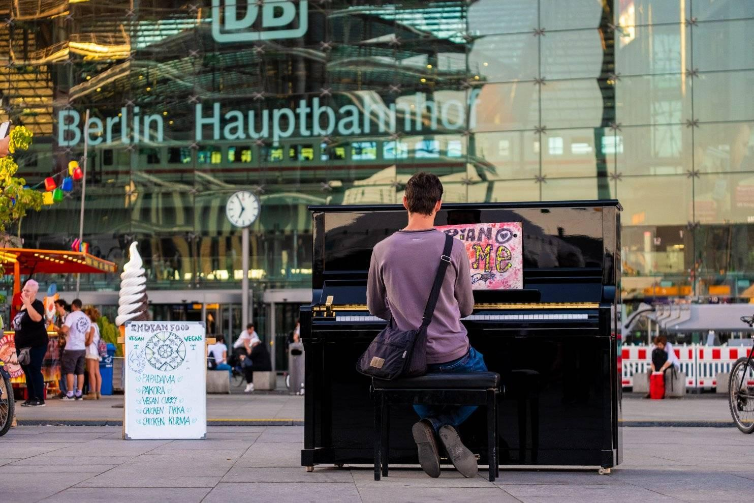 Streetpiano Washingtonplatz